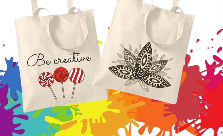 čiste platnene vrećice za kreativu